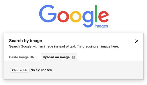 Google kép alapú keresés fájl feltöltése