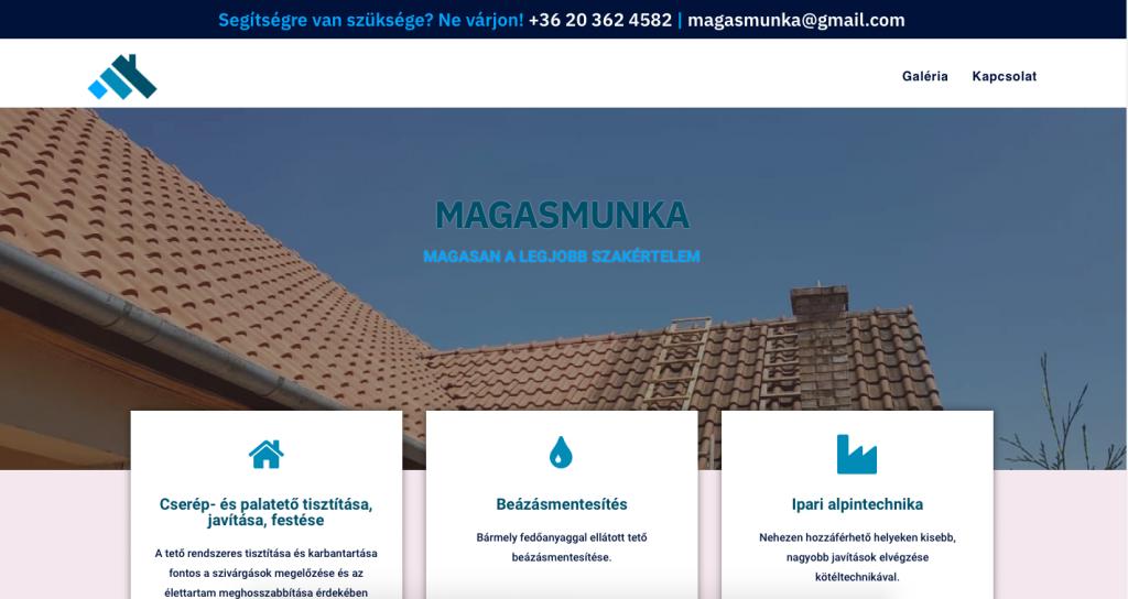 Magasmunka.hu képernyőfotó