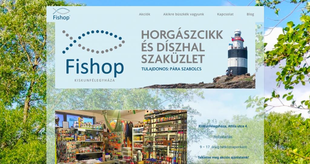 fishopkiskunfelegyhaza.hu képernyőfotó