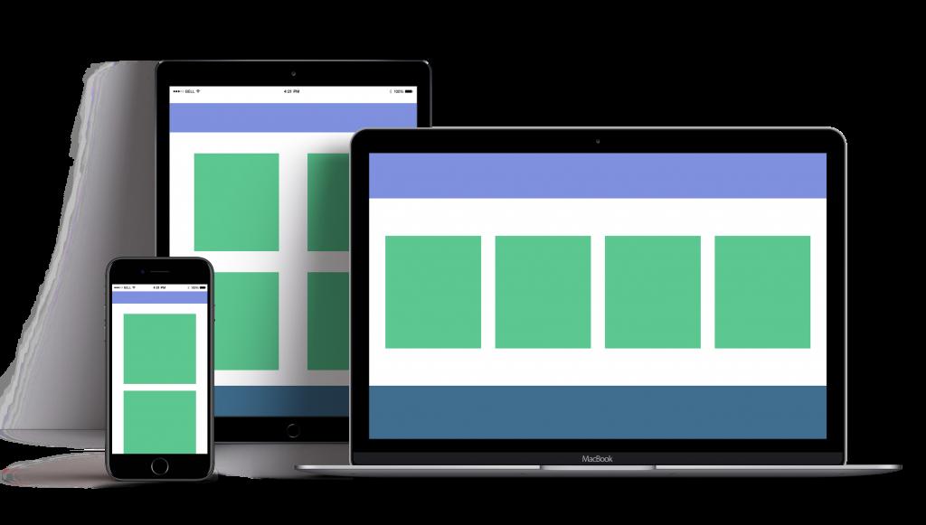 Reszponzív webdizájn piktogram